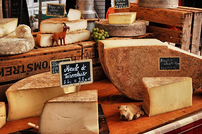 Fromage-Beaune-Market