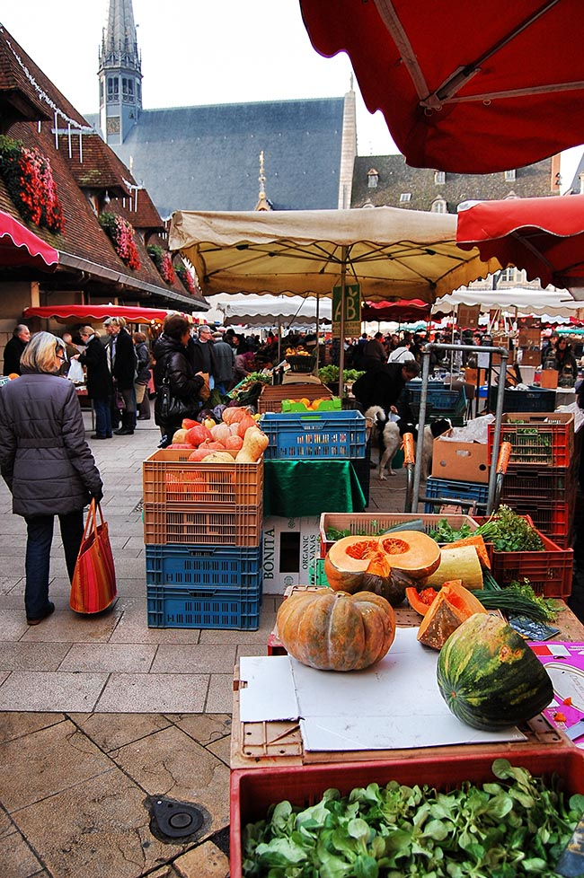 Pumpkins at Beaune Market