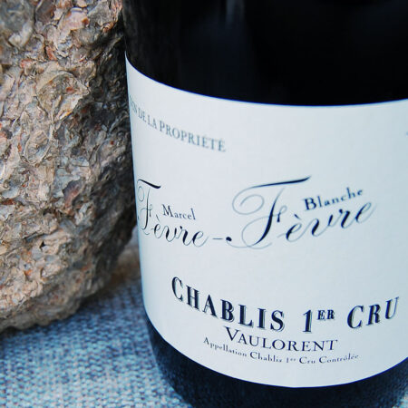 Fevre Fevre 2011 Chablis Vaulorent and fossilized oysters from vineyard
