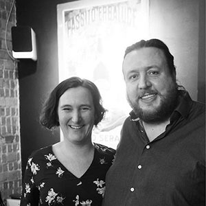 Emma & Andrew Nielsen of Le Grappin