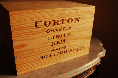 Corton Les Renardes Original Wood Case