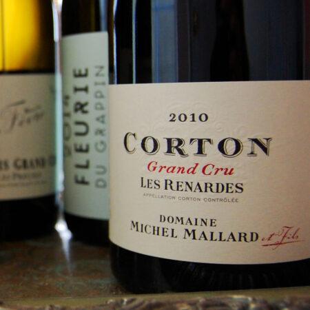 DOMAINE MICHEL MALLARD ET FILS 2010 Grand Cru Corton Les Renardes