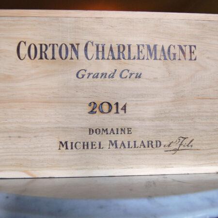 Corton Charlemagne Original Wood Case