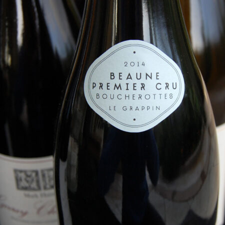 Le Grappin Beaune 1er Cru Boucherottes neck