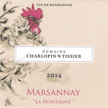 Domaine Charlopin-Tissier 2014 Marsannay la Montagne rouge